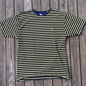 Vintage Tommy Hilfiger striped t shirt medium